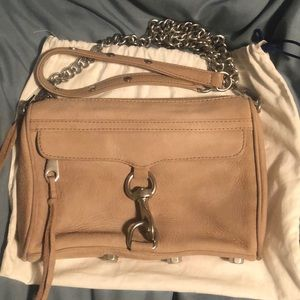 Rebecca Minkoff Suede Mini Mac Crossbody
